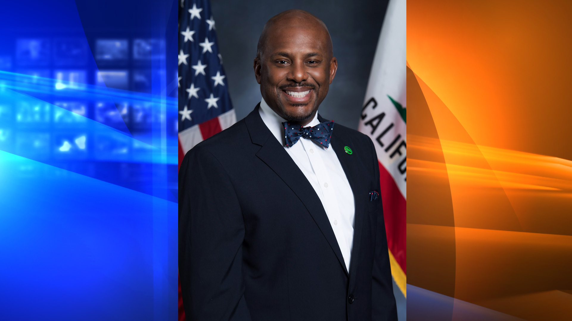 Assemblyman Mike Gipson is seen in a photo provided by his office on April 8, 2020.