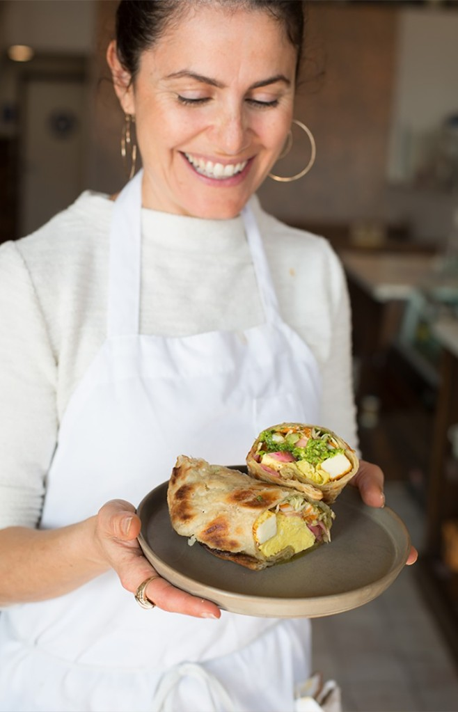 Michelle Wilton, chef/owner of Four Café, is shown. (CNN via Michelle Wilton)