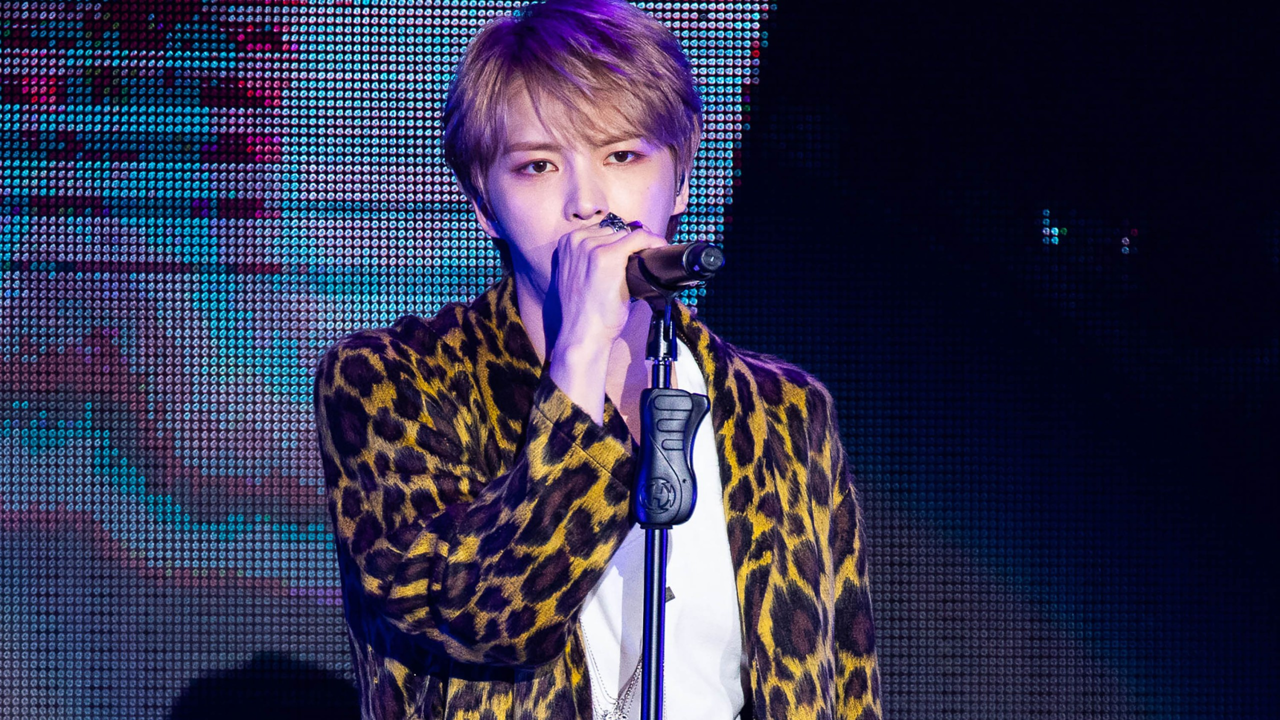 South Korean singer Kim Jae-joong has apologized for his post, where he told fans he had caught coronavirus after ignoring government warnings. (Visual China Group/Getty Images)