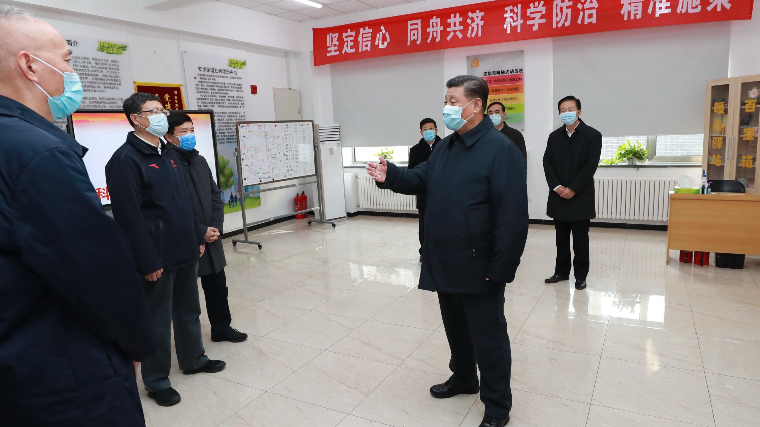New questions are being raised over just when China understood the potential severity of the novel coronavirus outbreak in Wuhan, and how long the country's leaders sat on critical information that might have helped stave off a global pandemic. (Pang Xinglei/Xinhua News Agency/Getty Images)