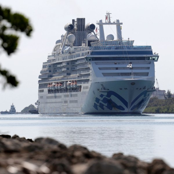 The Coral Princess cruise ship is seen in this file photo. (Associated Press via CNN Wire)