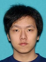 Ruiang Zhang, 22, is seen in an undated photo provided by the Irvine Police Department on April 13, 2020.