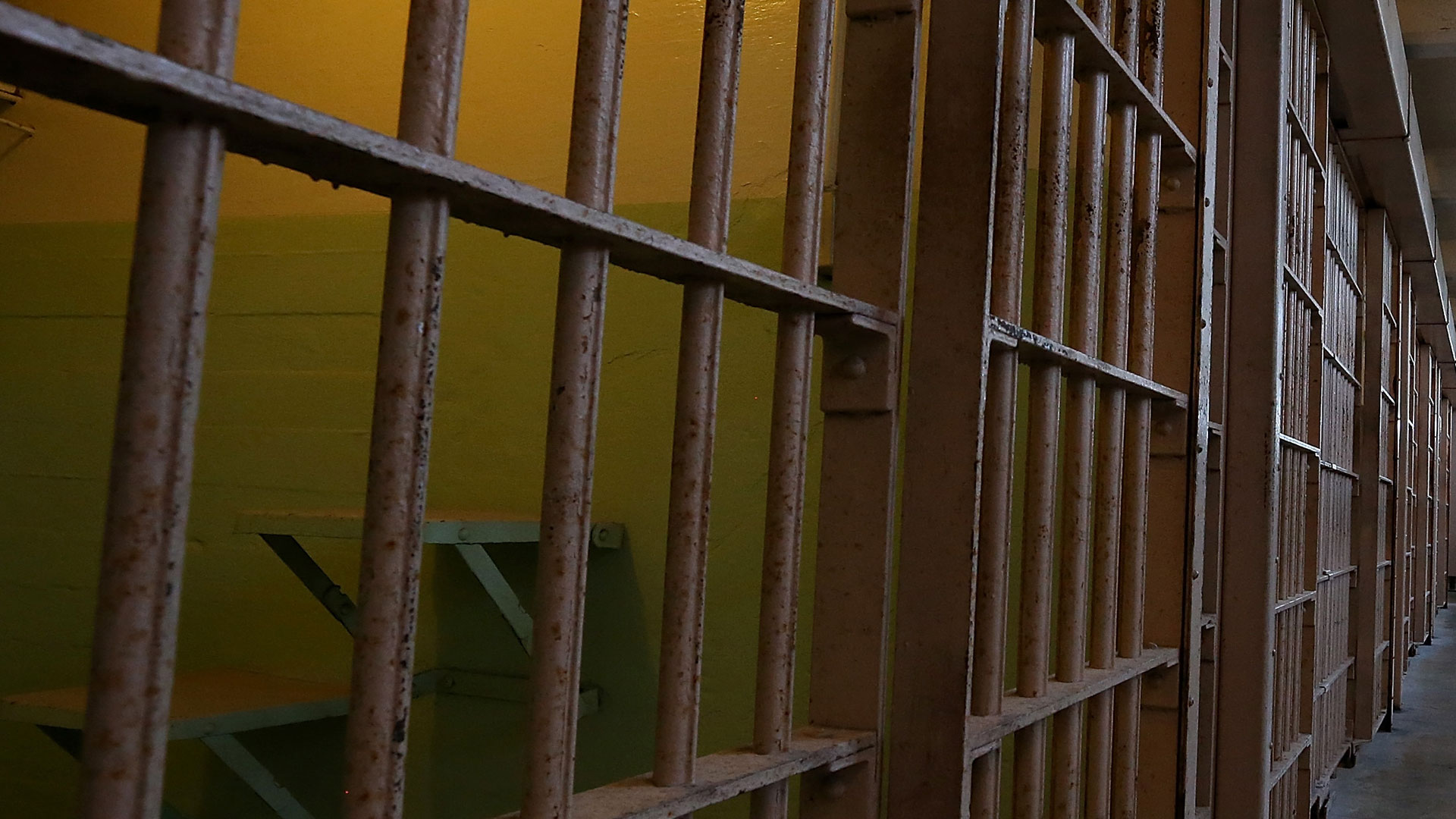 A file photo shows a jail cell. (Justin Sullivan/Getty Images)