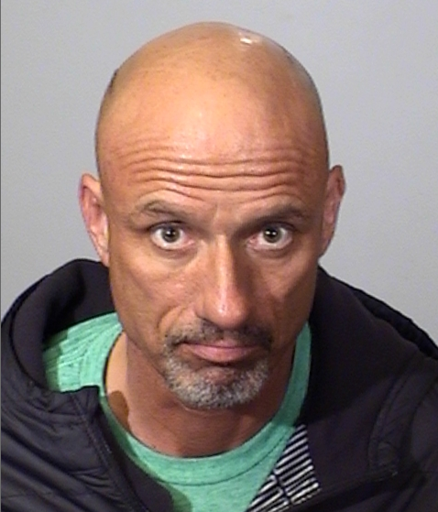 Christopher Vittoria is seen in a booking photo released by the Oxnard Police Department.