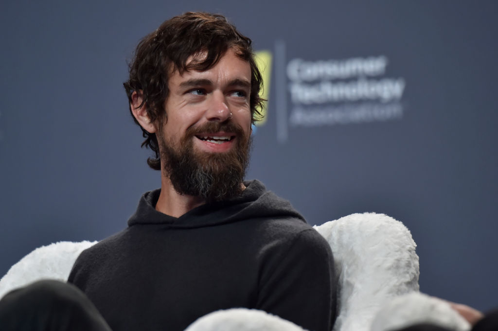 Twitter CEO Jack Dorsey speaks during a press event at CES 2019, on January 9, 2019 in Las Vegas, Nevada. (David Becker/Getty Images)