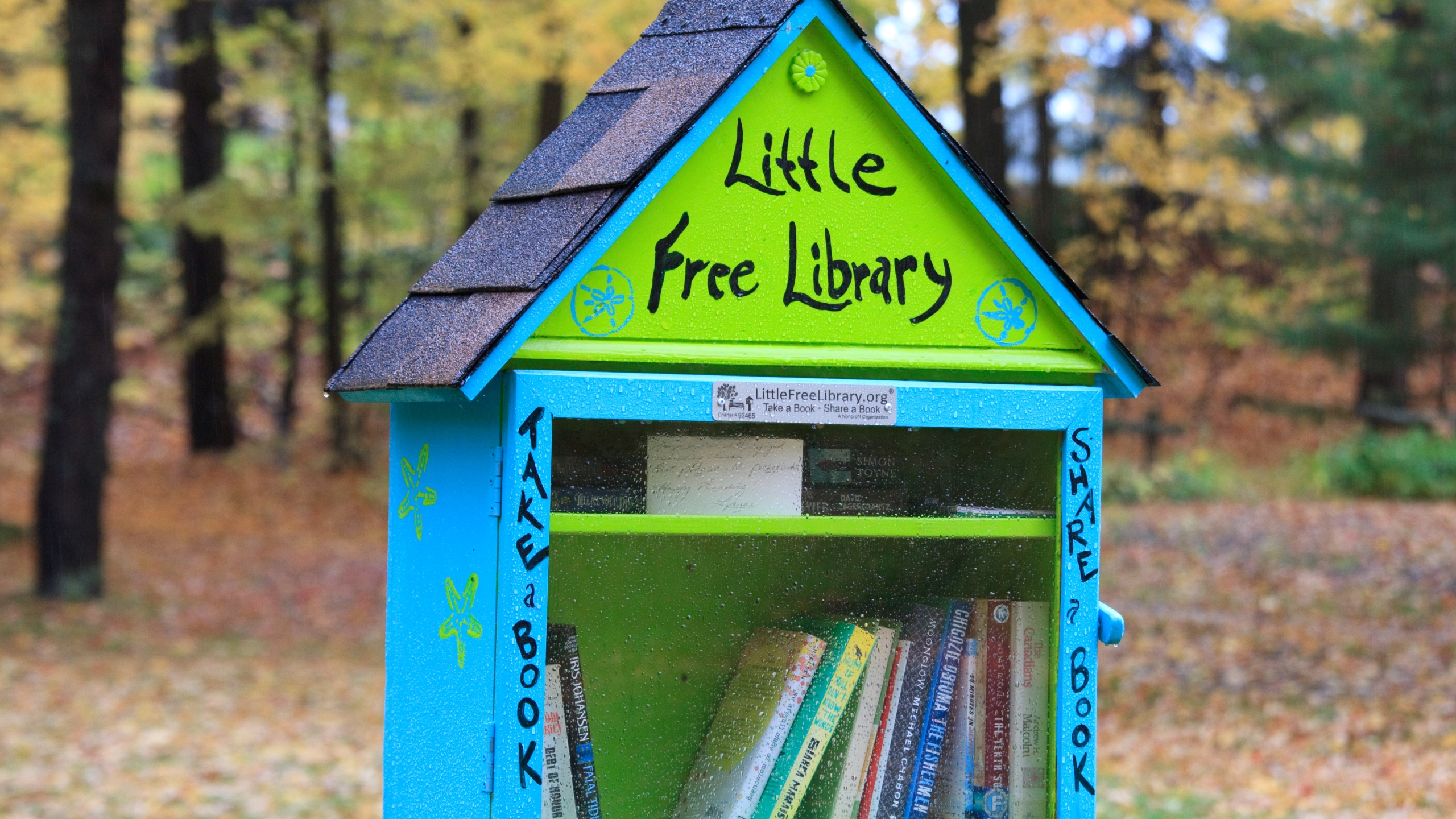 A Little Free Library is seen in an undated file photo. (Getty Images)