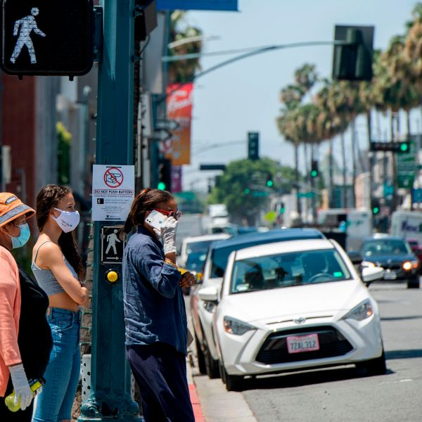 Densely-populated Los Angeles County, which remains the epicenter of the coronavirus pandemic in California, is not included in the list.