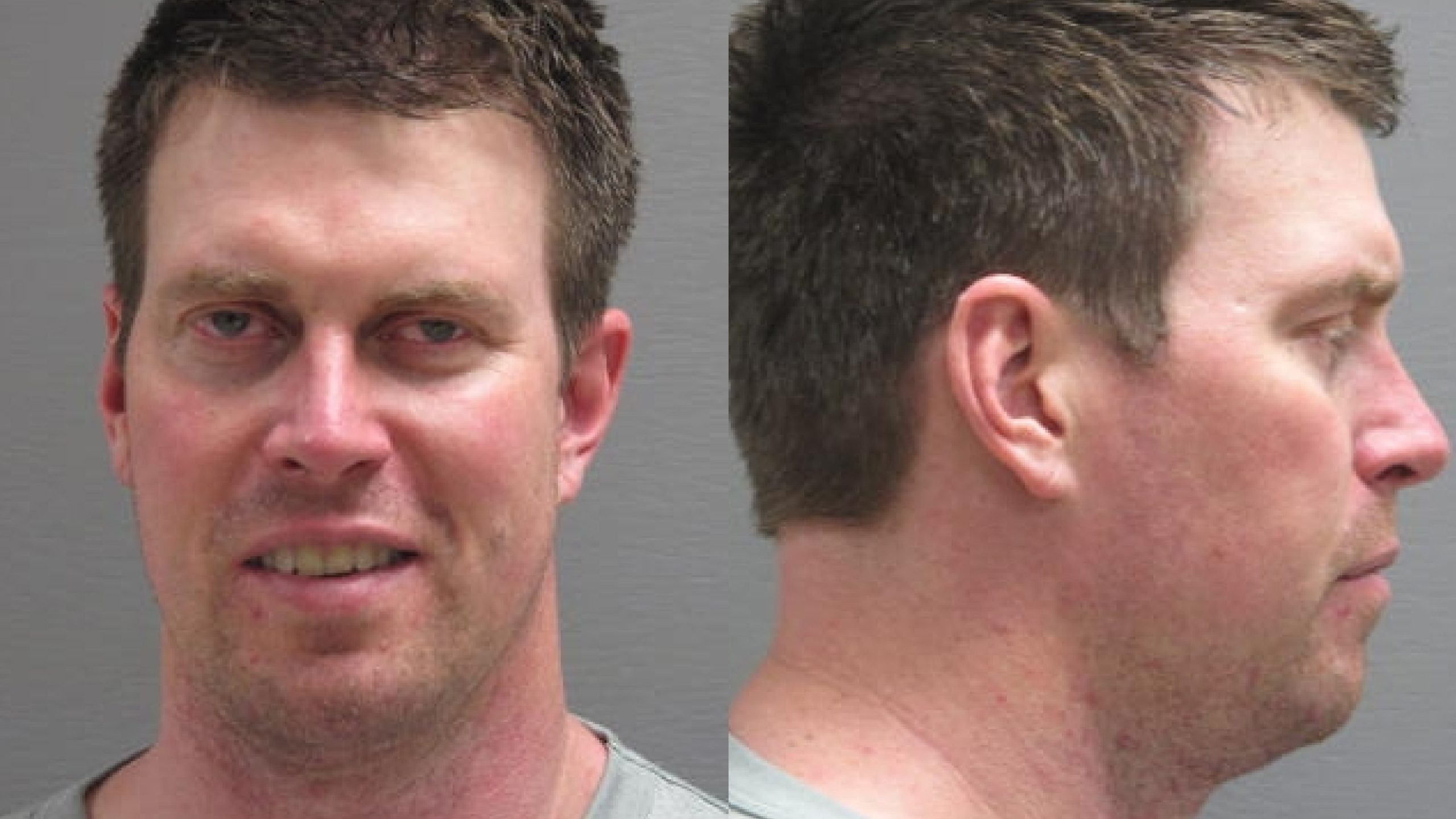 In this handout image provided by the Cascade County Sheriff's Office, former NFL quarterback Ryan Leaf is seen in a police booking photo April 2, 2012 in Great Falls, Montana. (Cascade County Sheriff's Office via Getty Images)