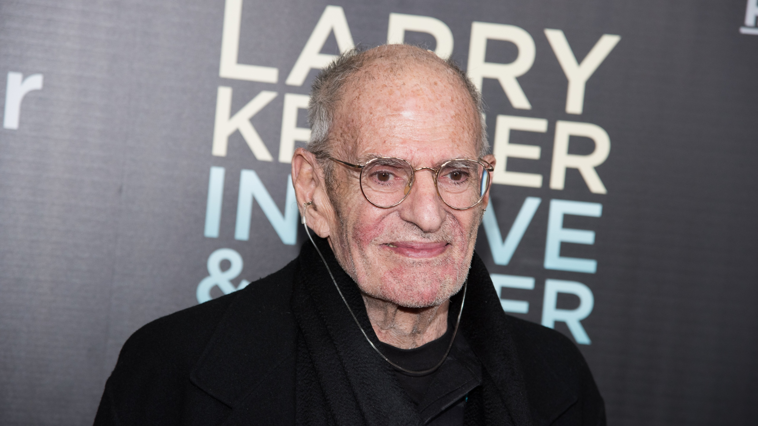 "Larry Kramer attends the ""Larry Kramer In Love And Anger"" New York premiere at Time Warner Center on June 1, 2015 in New York City. (Dave Kotinsky/Getty Images)"