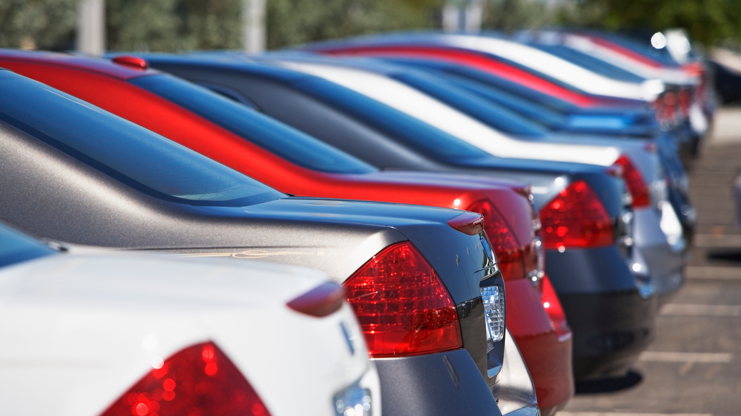 A file photo shows cars in a row. (Getty Images)