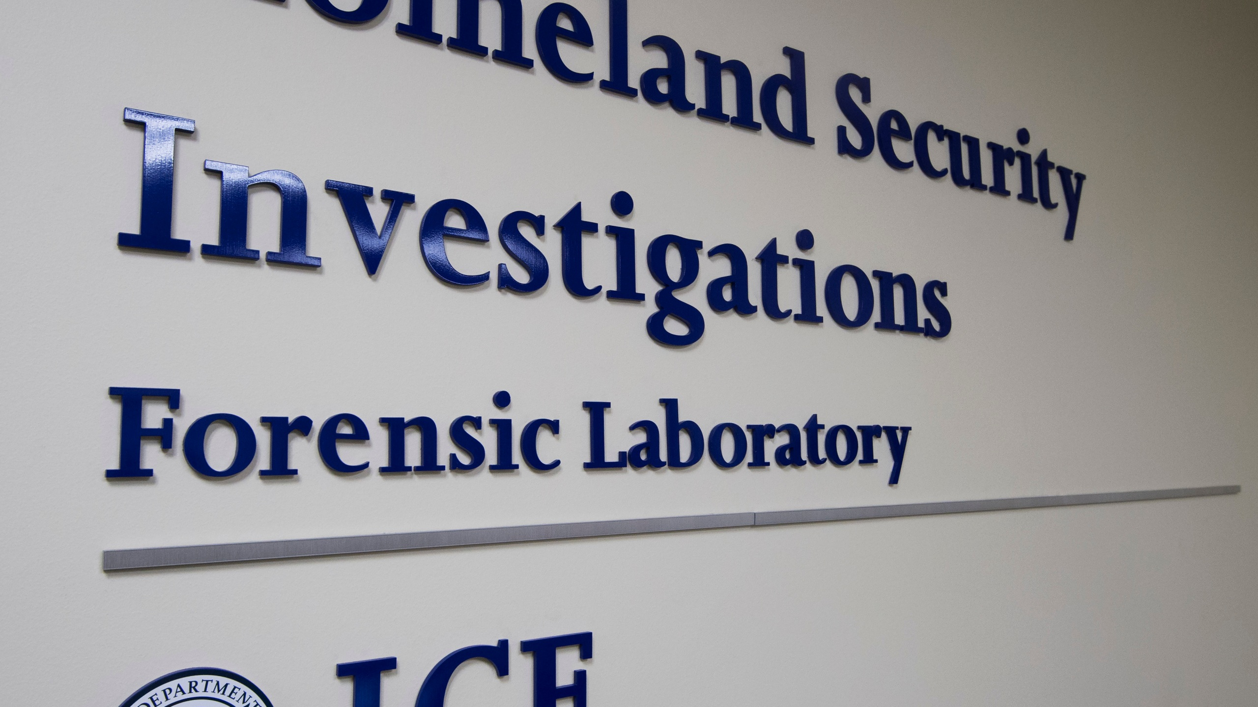 The Homeland Security Investigation Forensic Laboratory is seen in Tyson Corner, Virginia on July 20, 2016. (PAUL J. RICHARDS/AFP via Getty Images)
