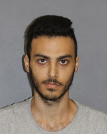 Kaveh Shahriari, 22, pictured in a photo released by the Irvine Police Department following his arrest on May 27, 2020.