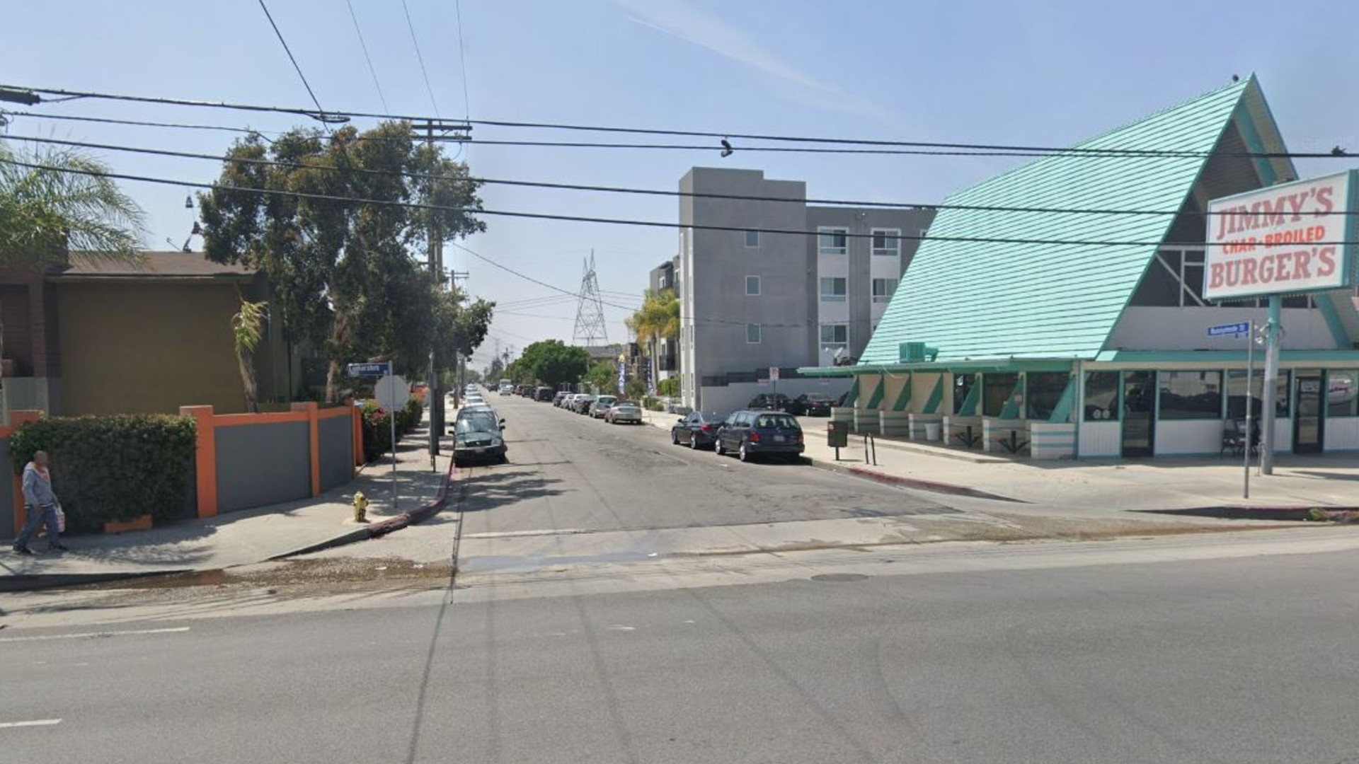 The 11700 block of Runnymede Street in North Hollywood, as pictured in a Google Street View image.