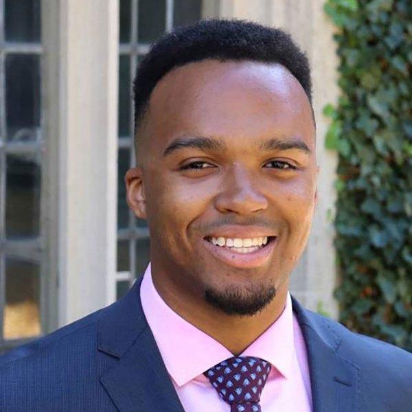 Nicholas Johnson, valedictorian of Princeton's Class of 2020.