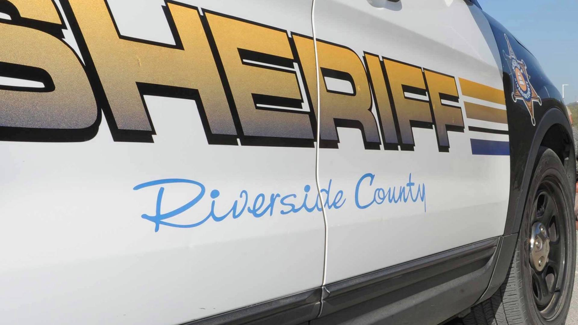 A Riverside County Sheriff's Department vehicle is seen in an undated photo shared by the agency.