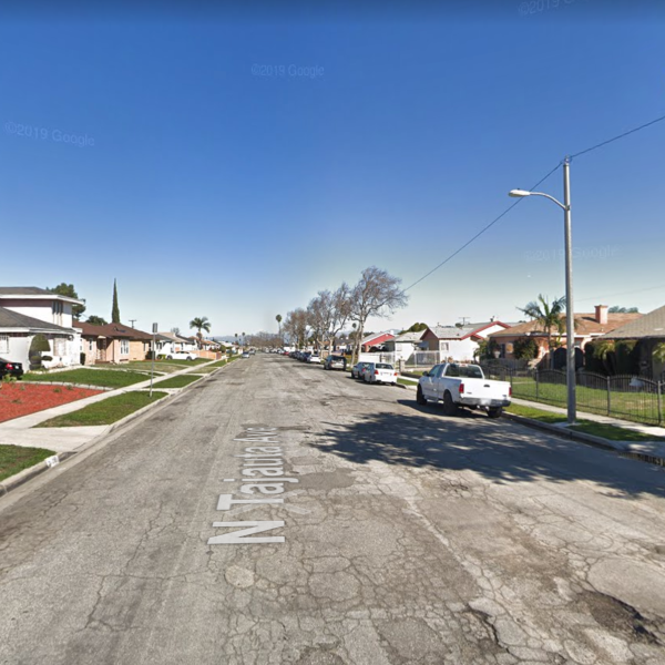 The 700 block of North Tajauta Avenue in Compton appears in this image from Google Maps.