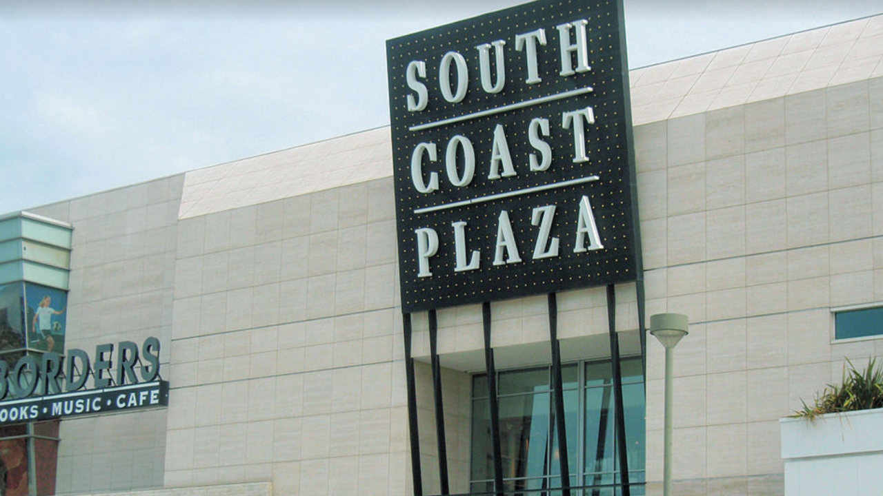 South Coast Plaza in Costa Mesa opens in-person shopping by appointment in parking garage
