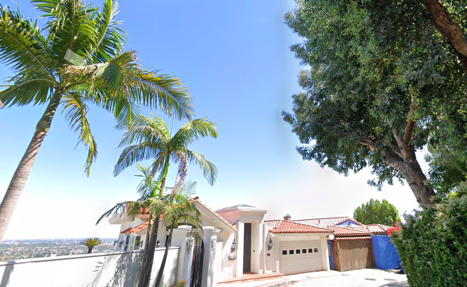 A Google Maps image shows a home in the 1400 block of Miller Drive in the Hollywood Hills.