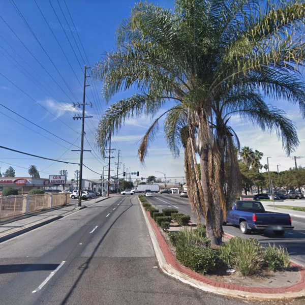 The 700 block of West Compton Boulevard appears in this image from Google Maps.