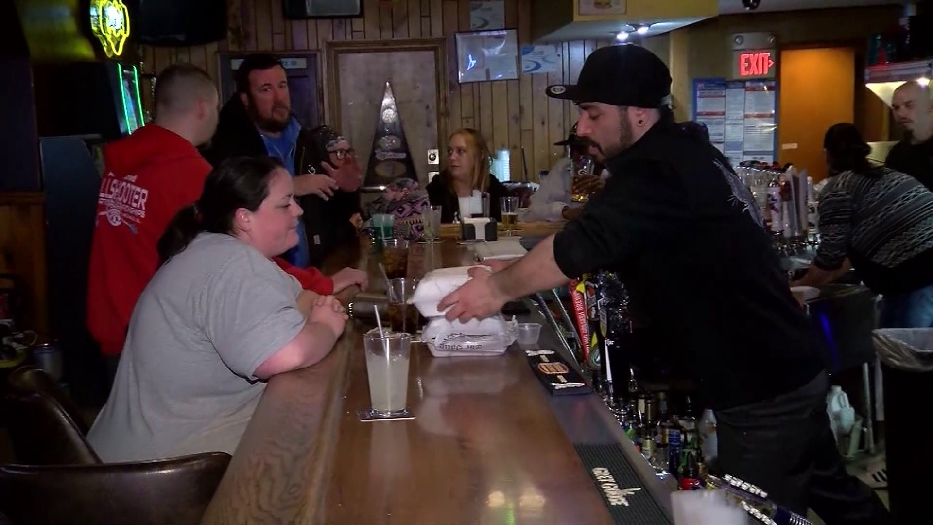 A bar in Wisconsin opened on May 13, 2020. (WITI)