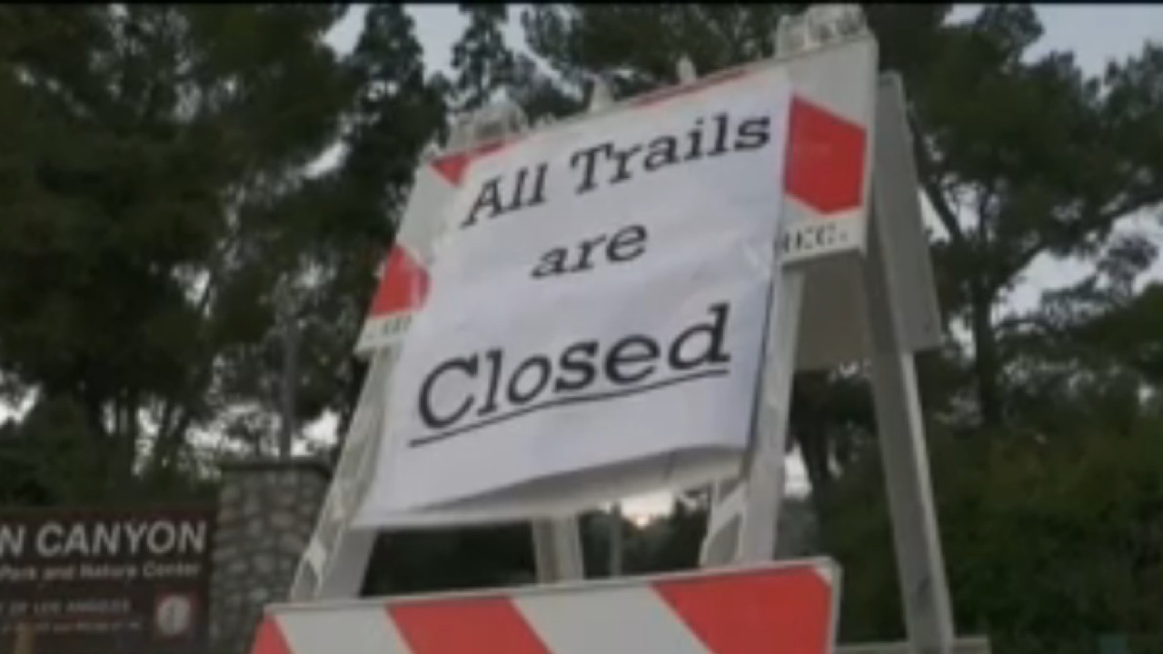 Popular Eaton Canyon hiking trails closed on Memorial Day after weekend overcrowding, visitors not following COVID-19 rules: Officials