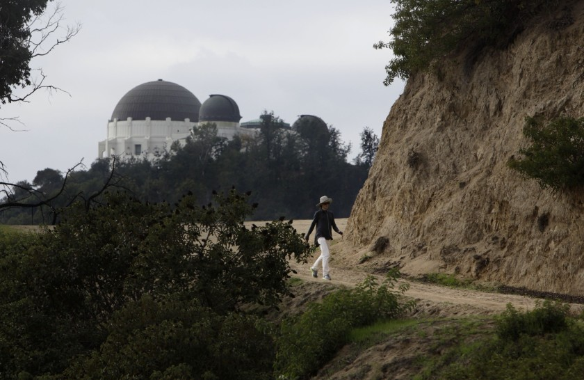 Two parcels, combining for 1.35 acres near the Bronson Caves, will be saved from development.(Michael Robinson Chavez / Los Angeles Times)