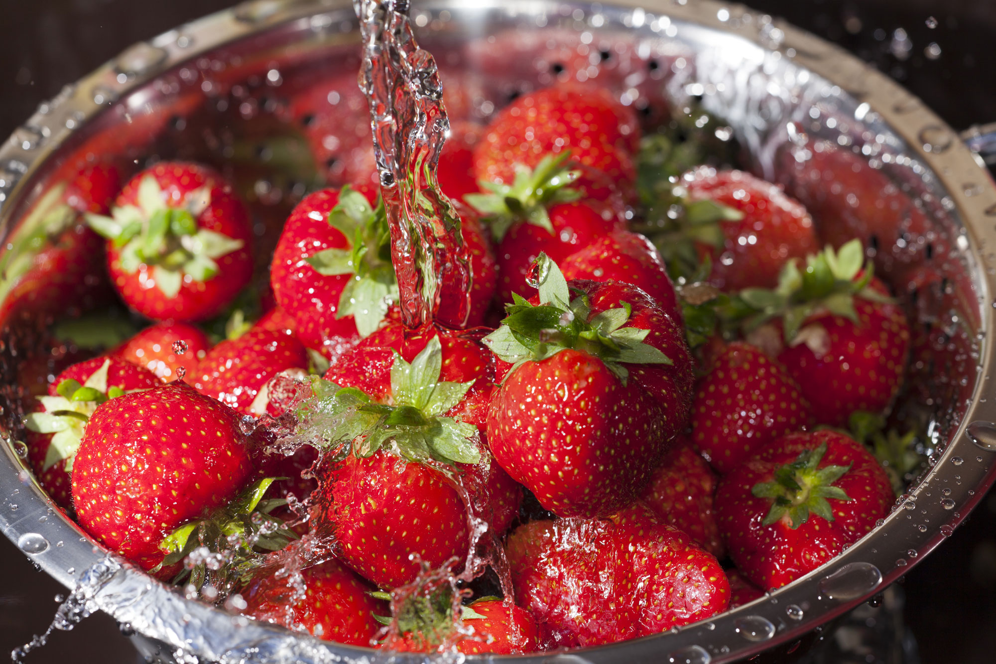 Fresh strawberries are seen in a file photo. (Shutterstock via CNN)