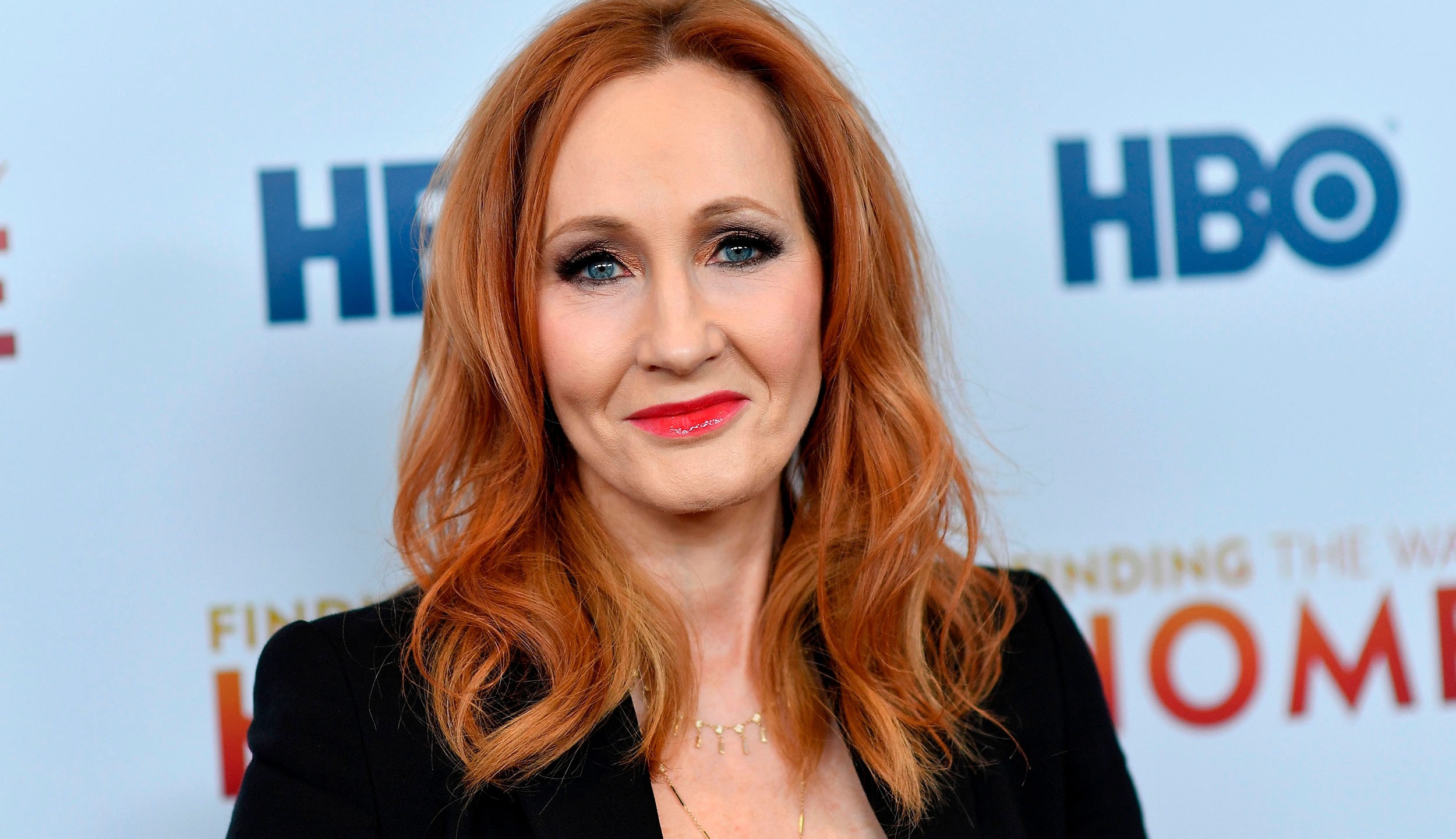 "British author J. K. Rowling attends HBO's ""Finding The Way Home"" world premiere at Hudson Yards on December 11, 2019, in New York City. (ANGELA WEISS/AFP via Getty Images)"
