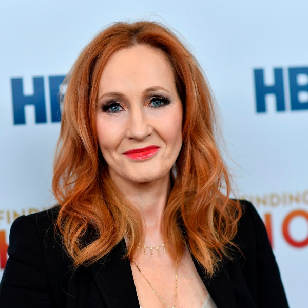 """British author J. K. Rowling attends HBO's """"Finding The Way Home"""" world premiere at Hudson Yards on December 11, 2019, in New York City. (ANGELA WEISS/AFP via Getty Images)"""