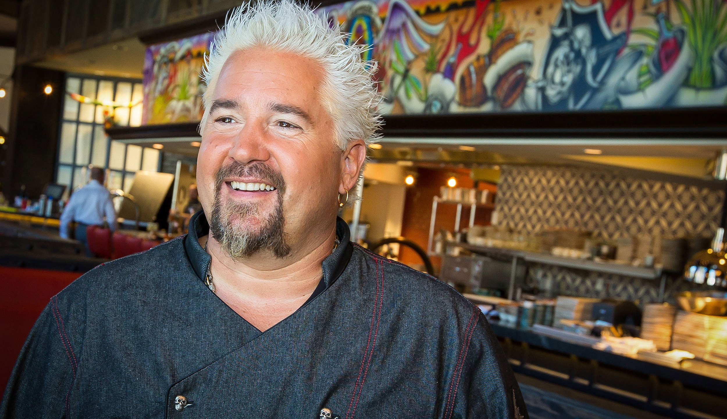 Guy Fieri pictured at the grand opening of Guy Fieri's El Burro Borracho at Rio All-Suite Hotel and Casino in Las Vegas, Nevada on April 1, 2016. (Erik Kabik Photography/ MediaPunch/IPX via CNN)