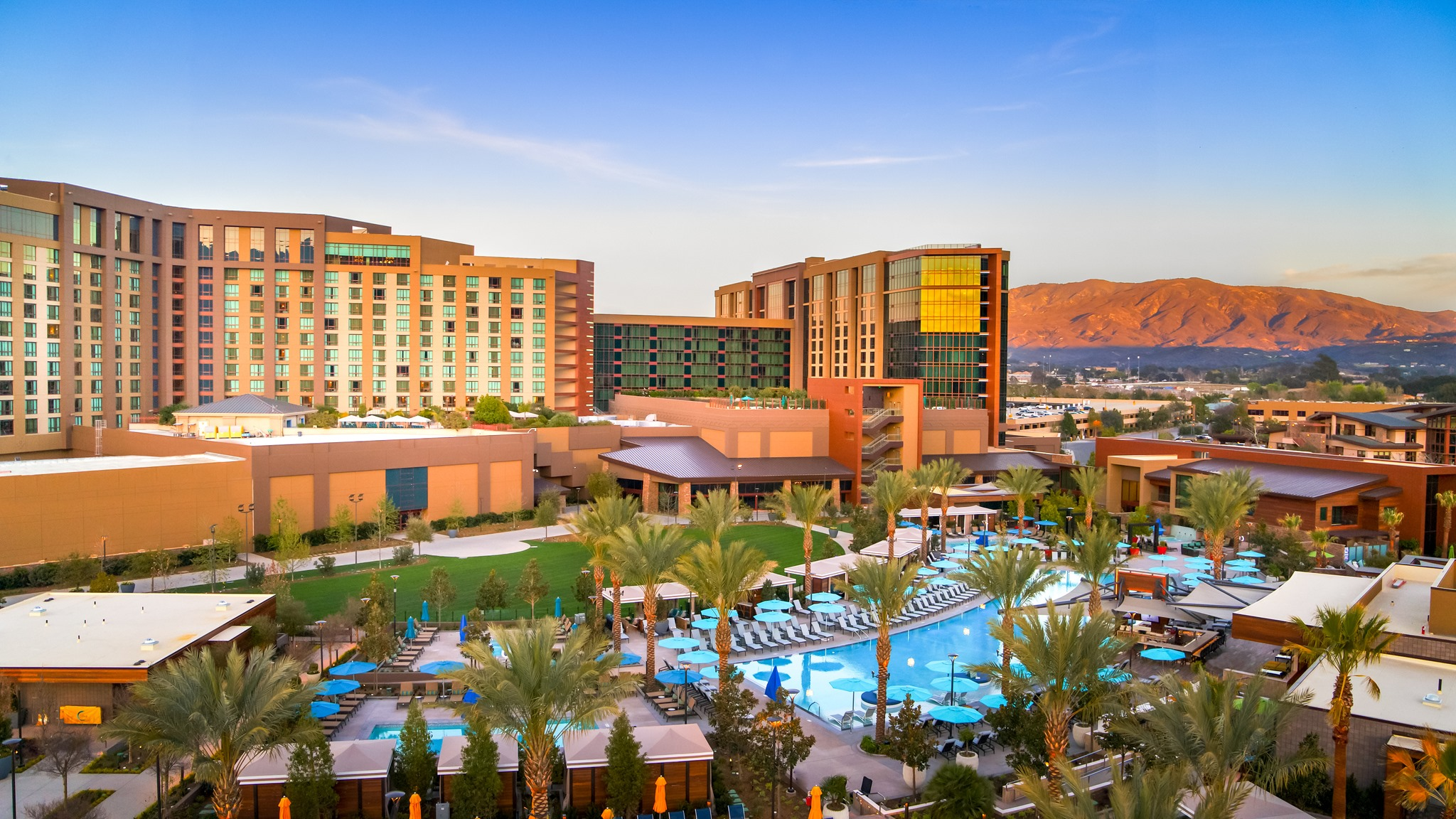 Pechanga Resort Casino is seen in an image posted to its Facebook Page.