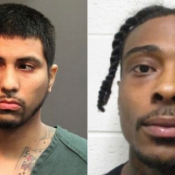 Gilberto Trevino (left) and Jordan Ozen are shown in photos released by the Santa Ana Police Department on May 14, 2020.