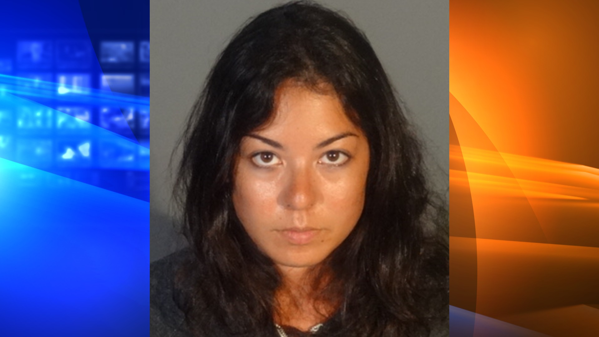 Amanda Van Dusye, 30, is seen in a booking photo released by the Santa Monica Police Department on June 19, 2020.