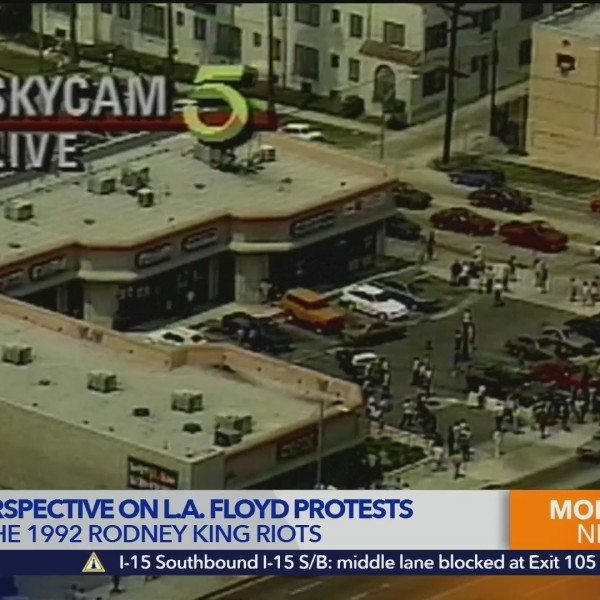 Patt Morrison compares 1992 riots and George Floyd protests