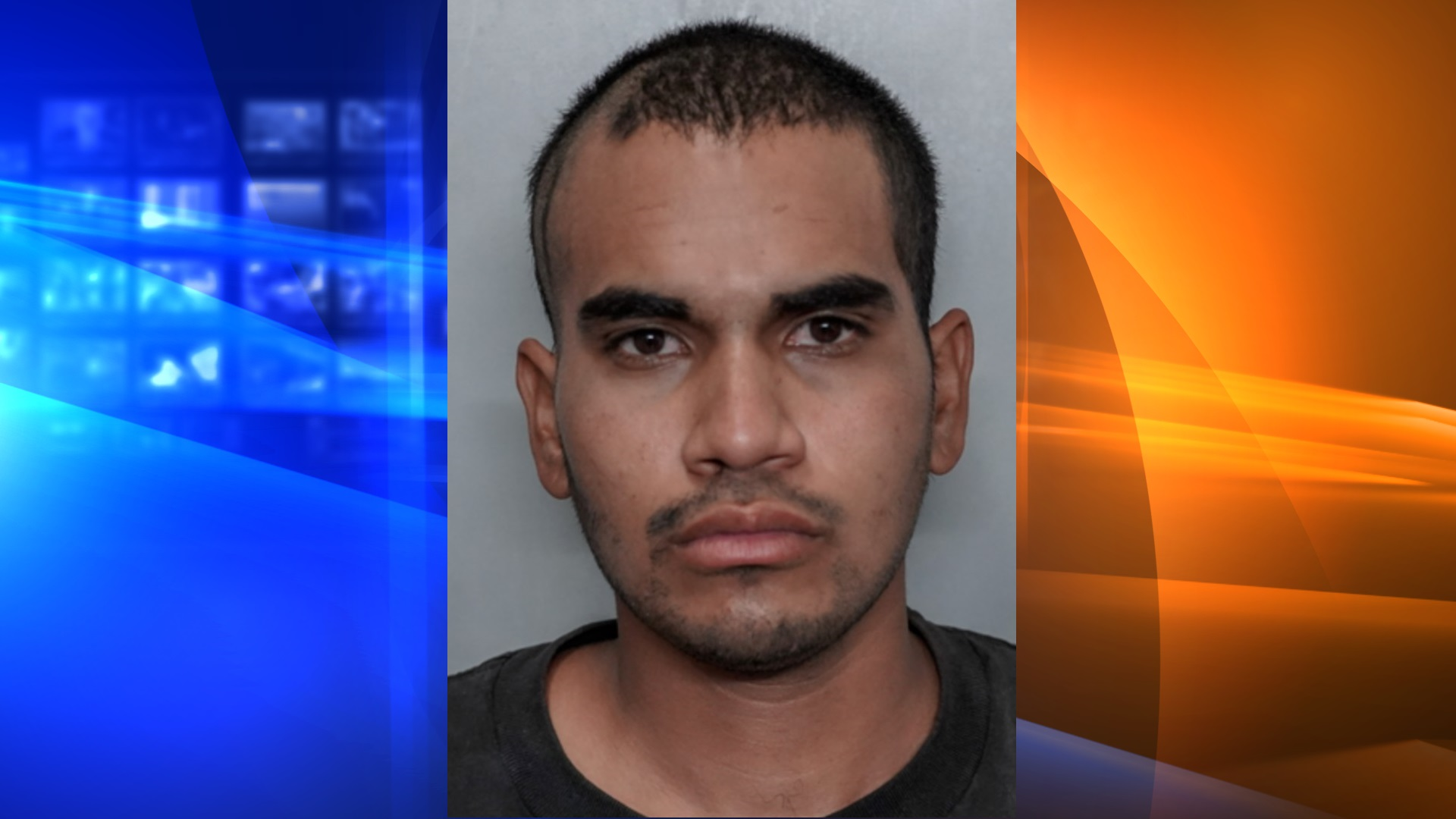 Brian Uriel Guzman, 27, of Riverside, pictured in a photo released by the Fontana Police Department following his arrest on June 11, 2020.