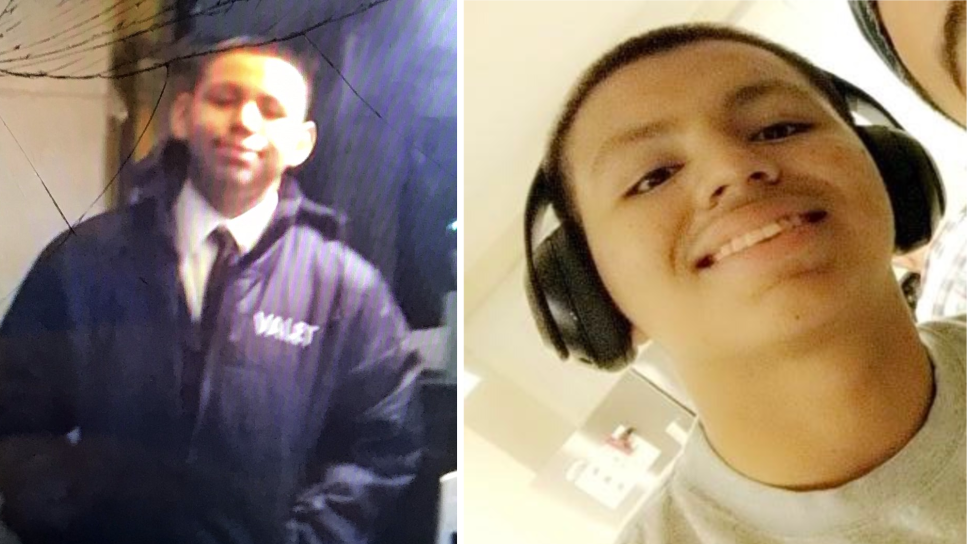Andres Guardado,18, is seen in undated photos provided by family members.