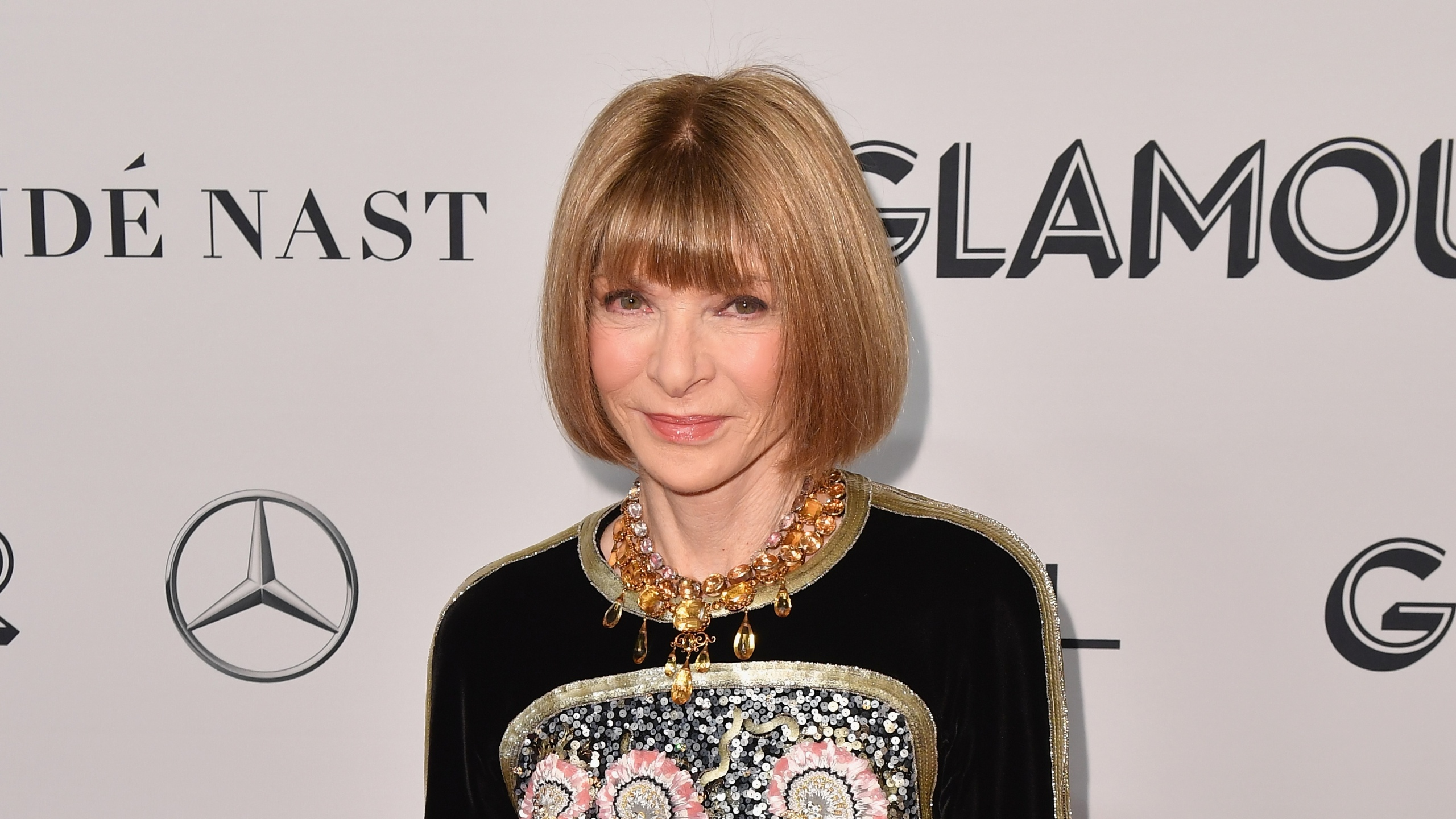 Vogue Chief Editor Anna Wintour attends the 2019 Glamour Women Of The Year Awards at Alice Tully Hall, Lincoln Center on Nov. 11, 2019, in New York City. (Angela Weiss/AFP via Getty Images)
