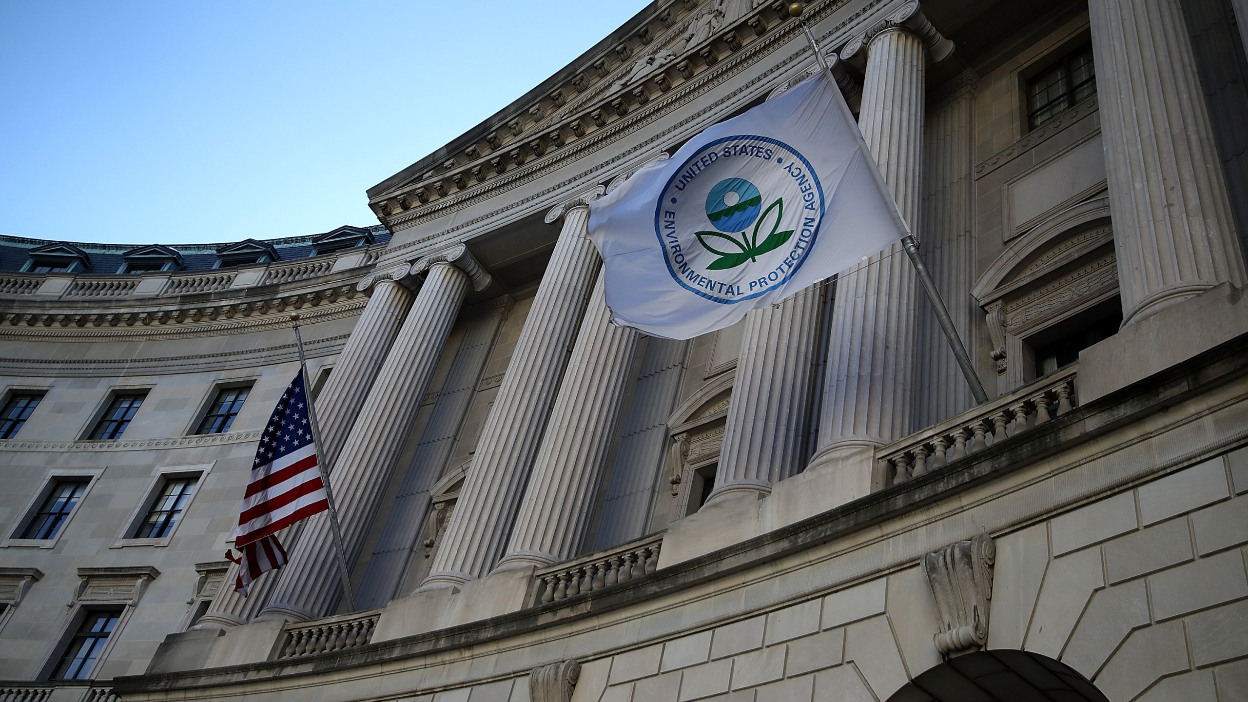 A view of the U.S. Environmental Protection Agency headquarters on March 16, 2017 in Washington, DC. (Justin Sullivan/Getty Images)