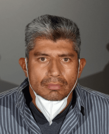 Hugo Wilfredo Portillo Jr., 41, of Barstow, pictured in a photo released by the Irwindale Police Department following his arrest on June 16,2020.