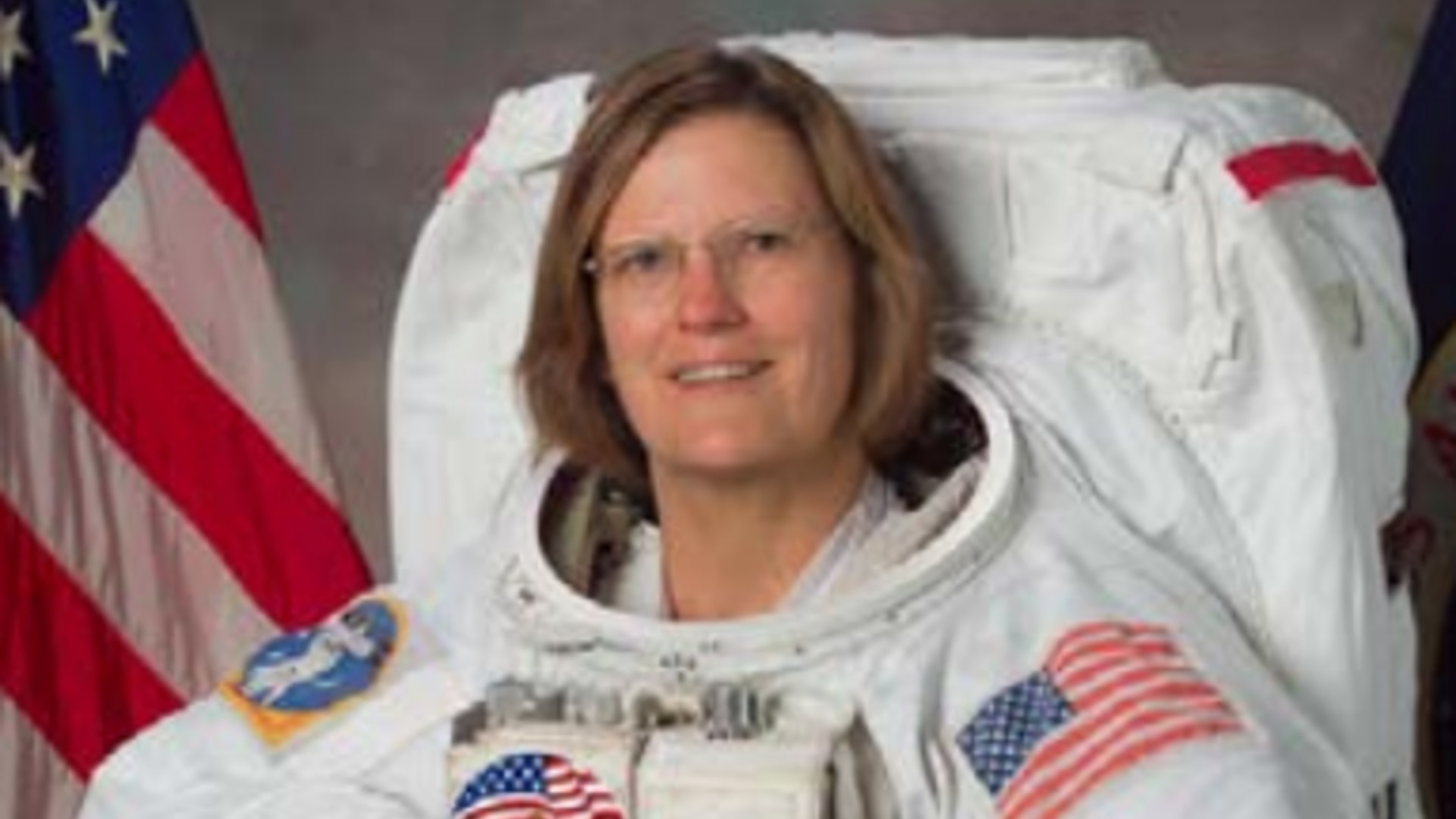 Kathy Sullivan is seen in an image from NASA.