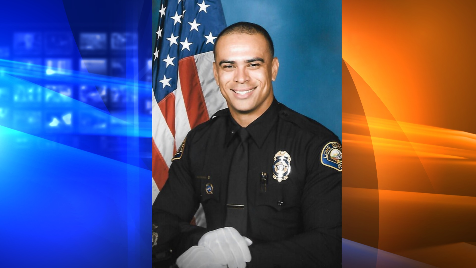 Long Beach Police Officer Anton Fischer, 33, of Long Beach, pictured in a photo released by the agency following his death on June 4, 2020.