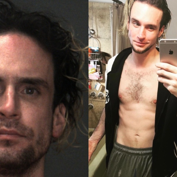 Joshua Lewis Blackwell-Tallent is pictured in photos released by the San Bernardino County Sheriff's Department following his arrest on June 12, 2020.
