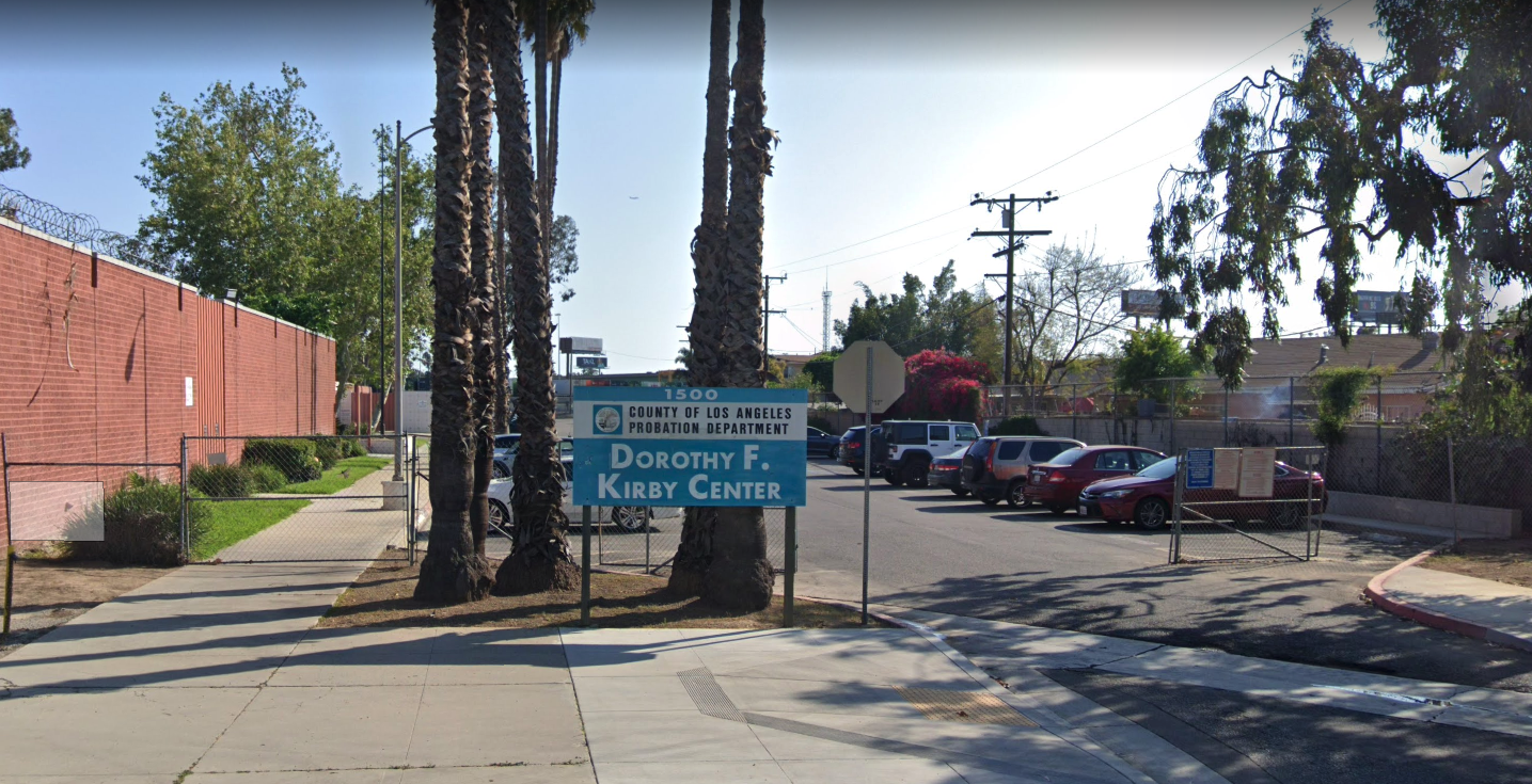 Dorothy Kirby Center in Commerce is shown in a Street View image from Google Maps.
