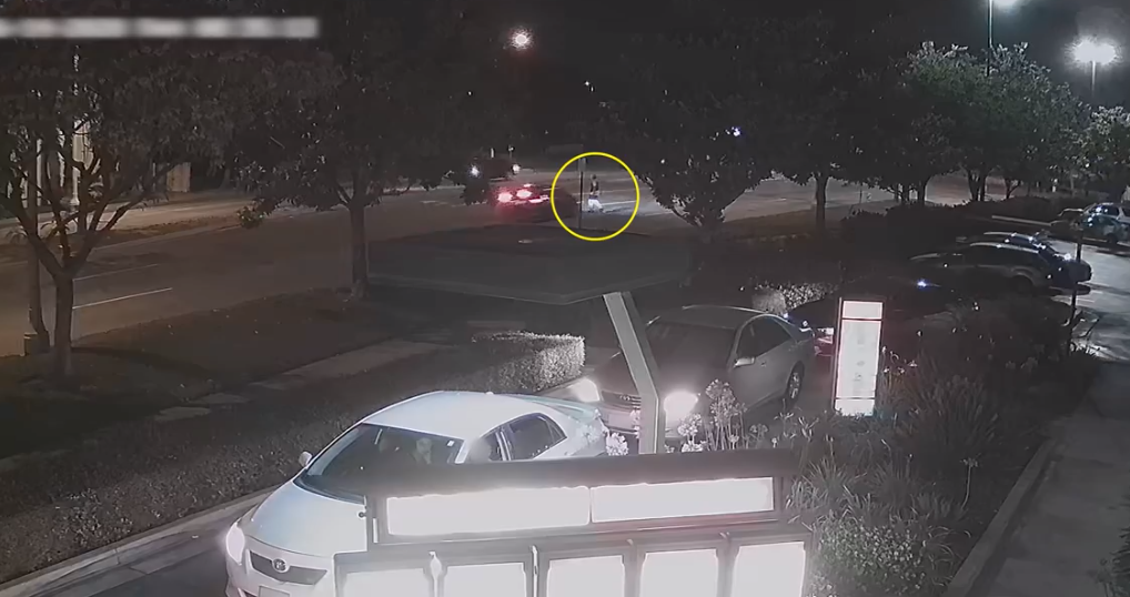 Surveillance video released by the Los Angeles County Sheriff's Department shows the moments leading up to a fatal hit-and-run in Pico Rivera on June 14, 2020, in Pico Rivera.