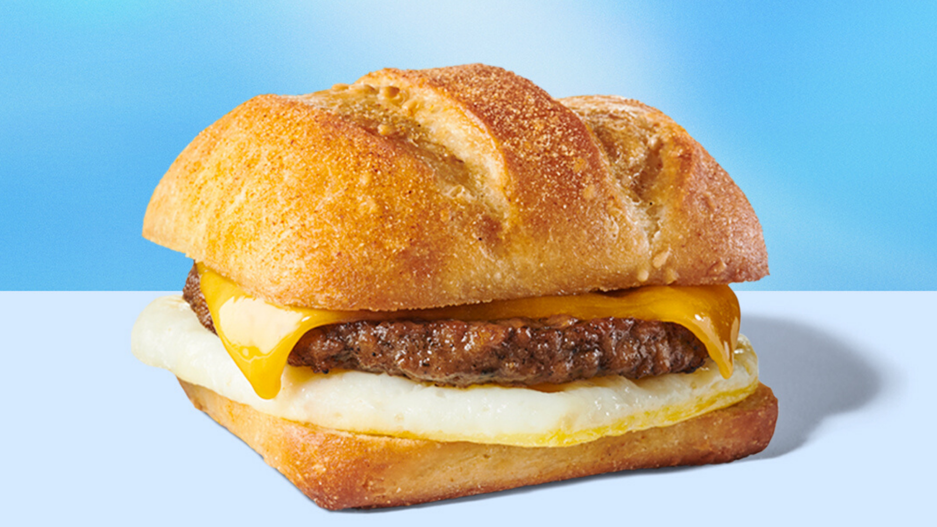 Starbucks' Impossible Breakfast Sandwich is seen in a photo released by the chain on June 23. 2020.