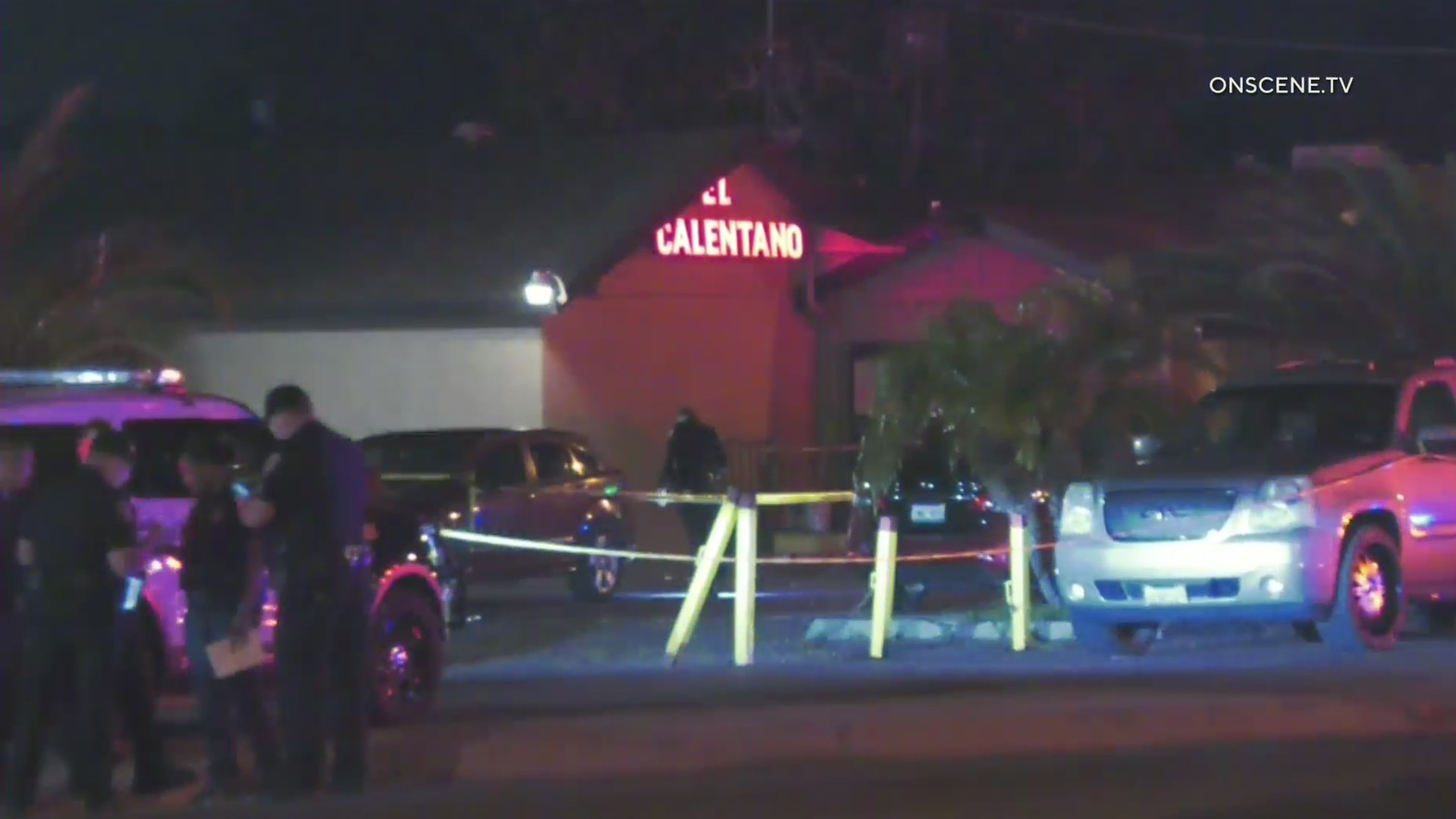 Authorities investigate a deadly shootout in Riverside on June 22, 2020. (OnScene.TV)