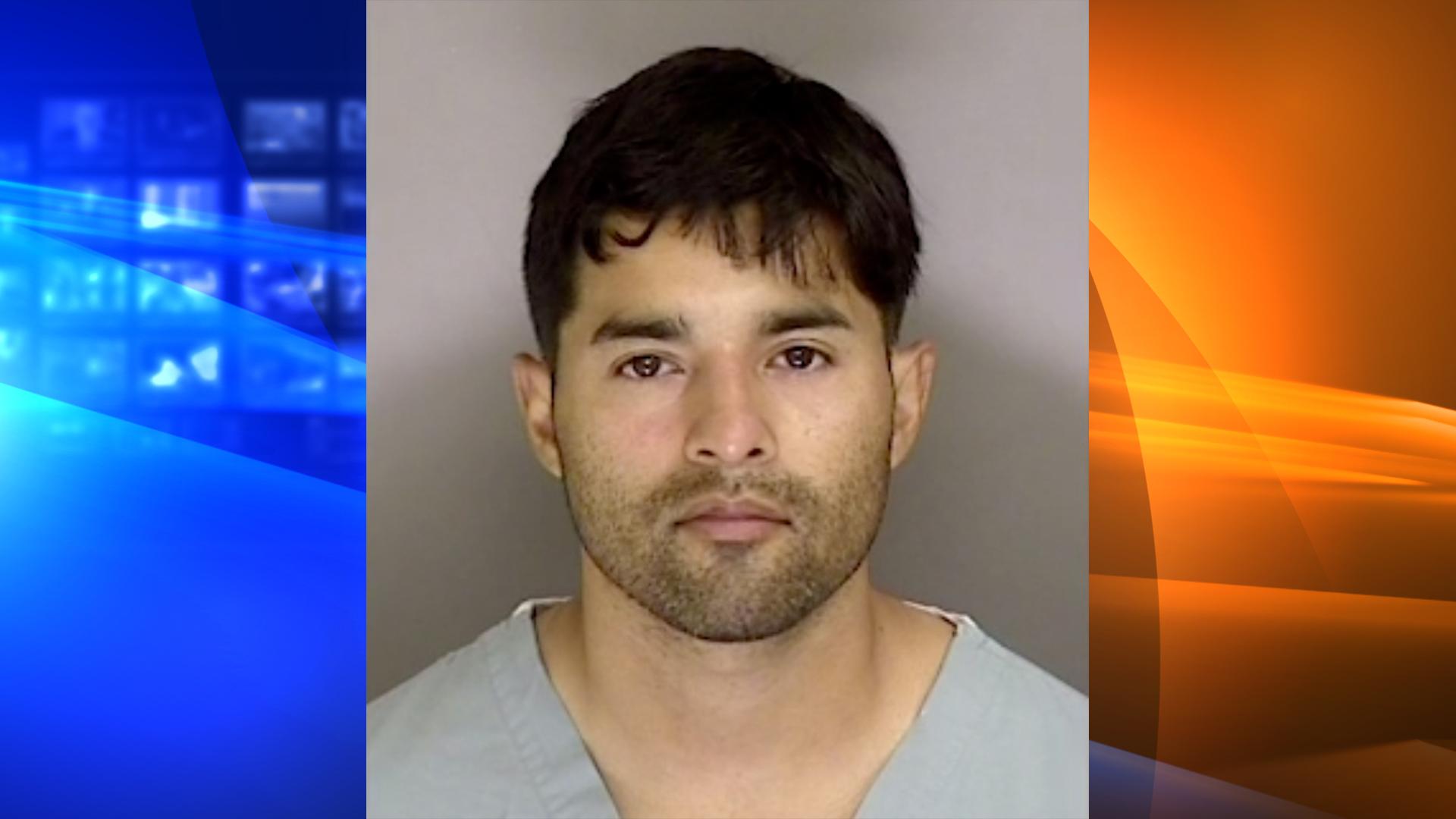 Steven Carrillo is seen in an undated booking photo. (Santa Cruz Sheriff's Office)