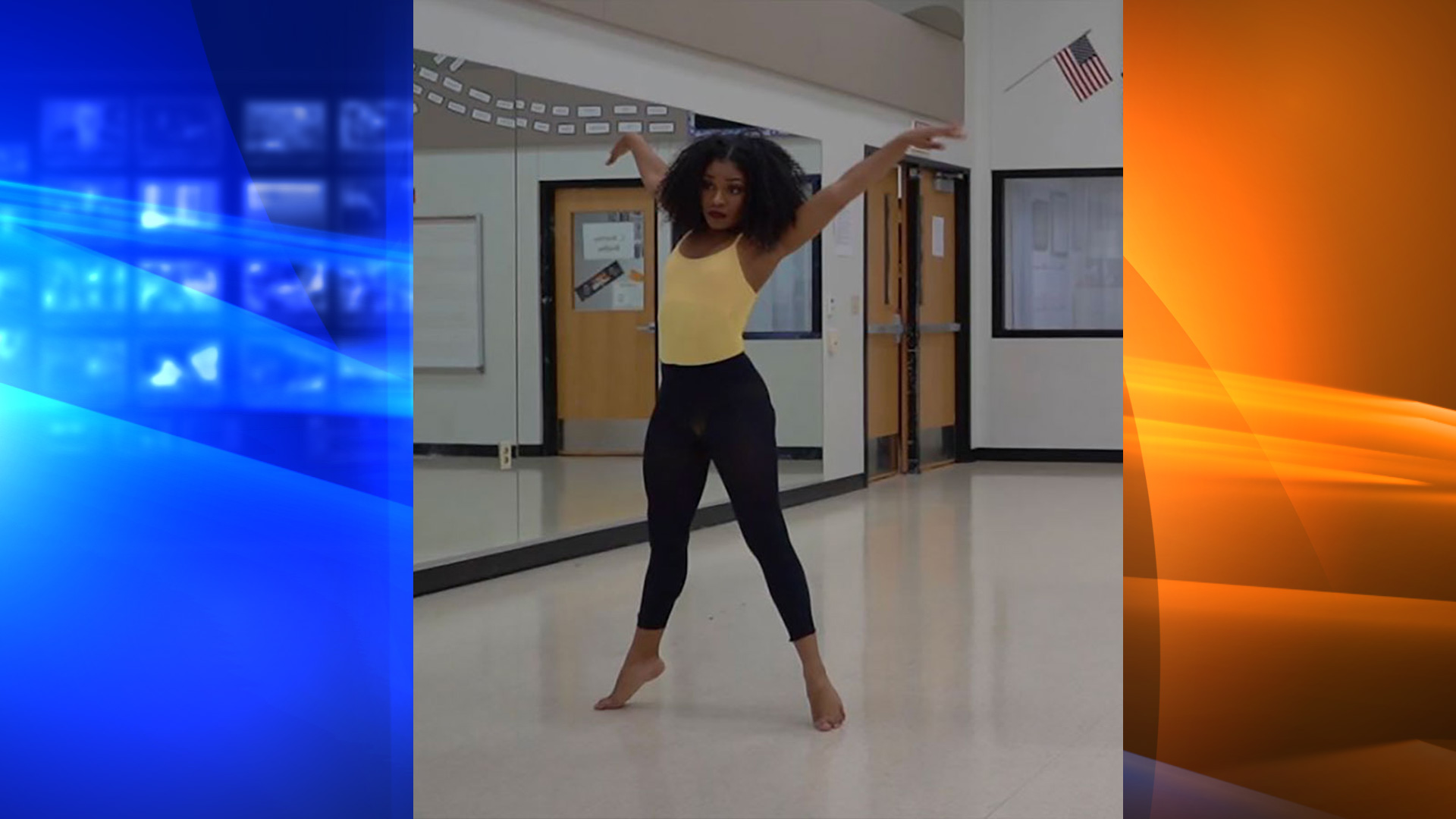 Briana Bell is one of the many black dancers who struggles with finding dance clothes and shoes that match her skin color. (Karen Bell)