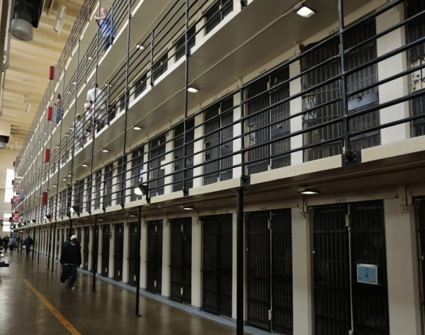San Quentin State Prison in Marin County is seen in an undated photo. (Mark Boster / Los Angeles Times)