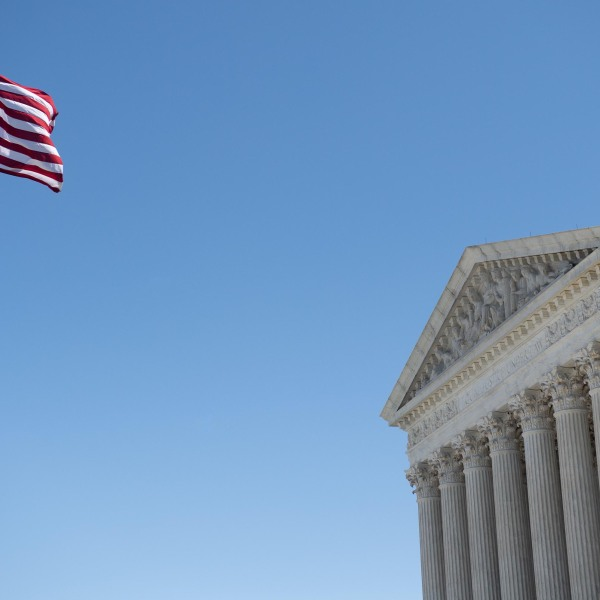 The U.S. Supreme Court is seen in Washington, DC, on May 4, 2020. (SAUL LOEB/AFP via Getty Images)
